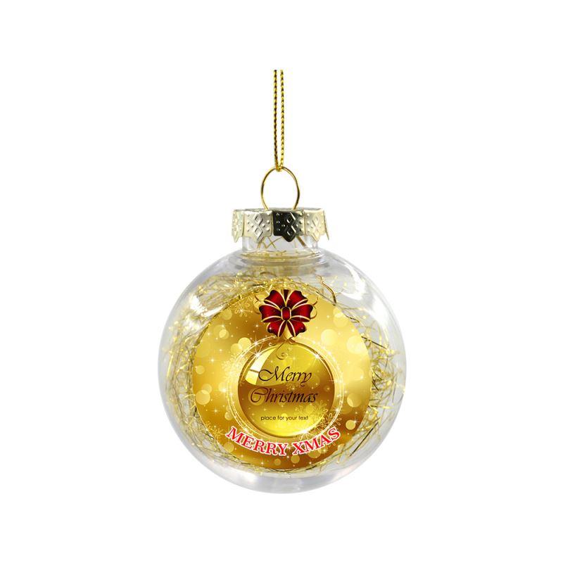 sublimation christmas balls