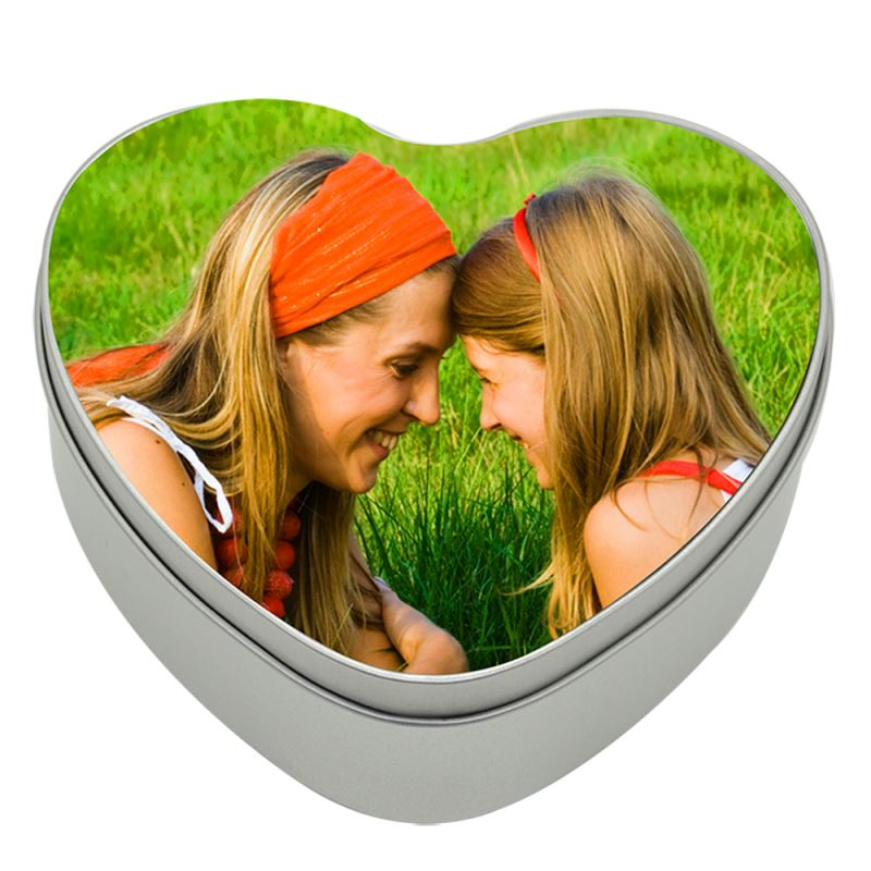 Sublimation Metal Tin-Heart