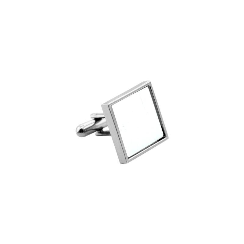 Metal Cufflink- Square - 2cm