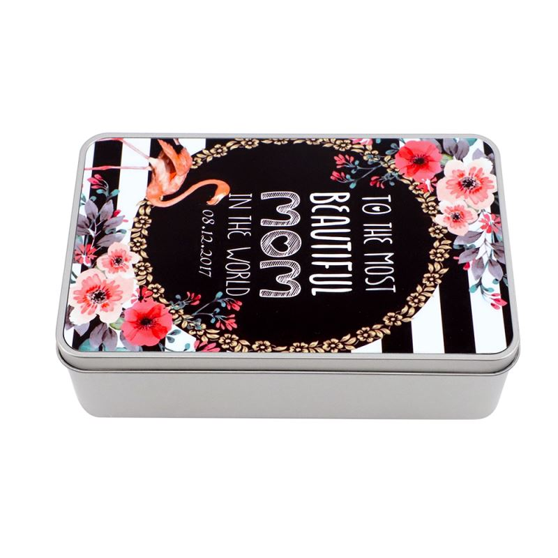Sublimation Blank Metal Tin Boxes