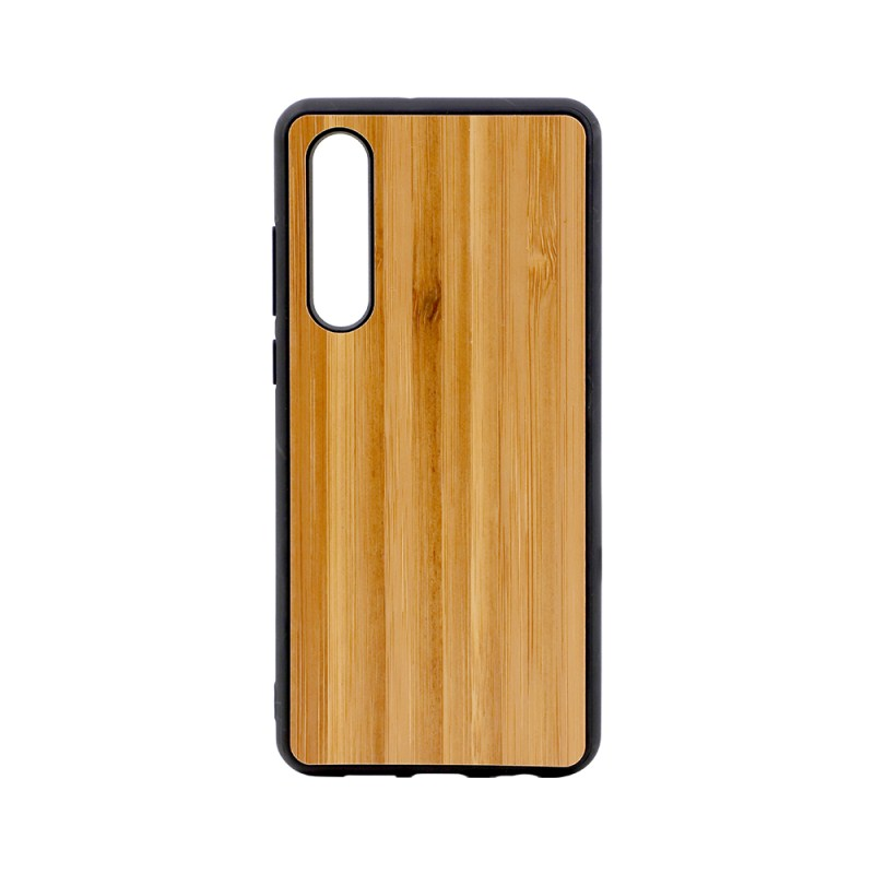 Sublimation TPU Phone Case with Bamboo for Huawei P30