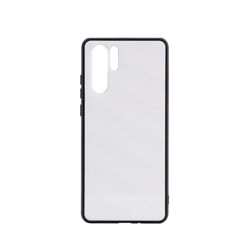 TPU Phone Case with Tempered Glass Insert for Huawei P30 pro