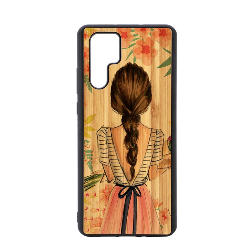 Sublimation TPU Phone Case with Bamboo for Huawei P30 Pro