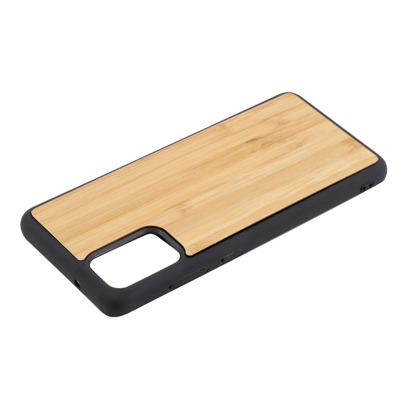 Sublimation TPU Phone Case with Bamboo for Samsung S20 Plus