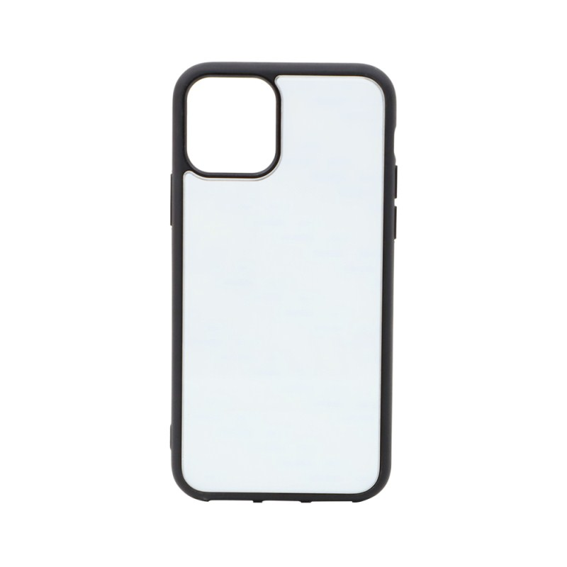 TPU Phone Case with Tempered Glass Insert for iPhone 11