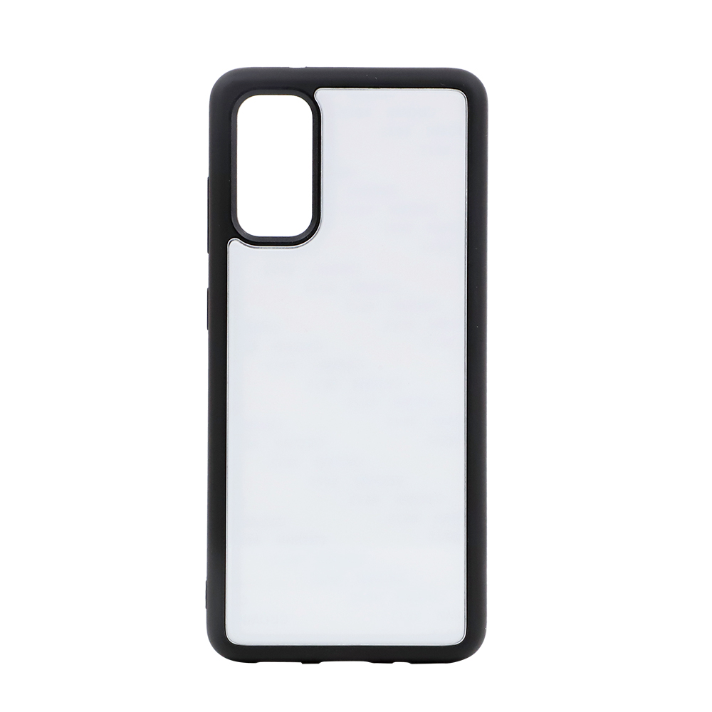 TPU Phone Case with Tempered Glass Insert for Samsung S20