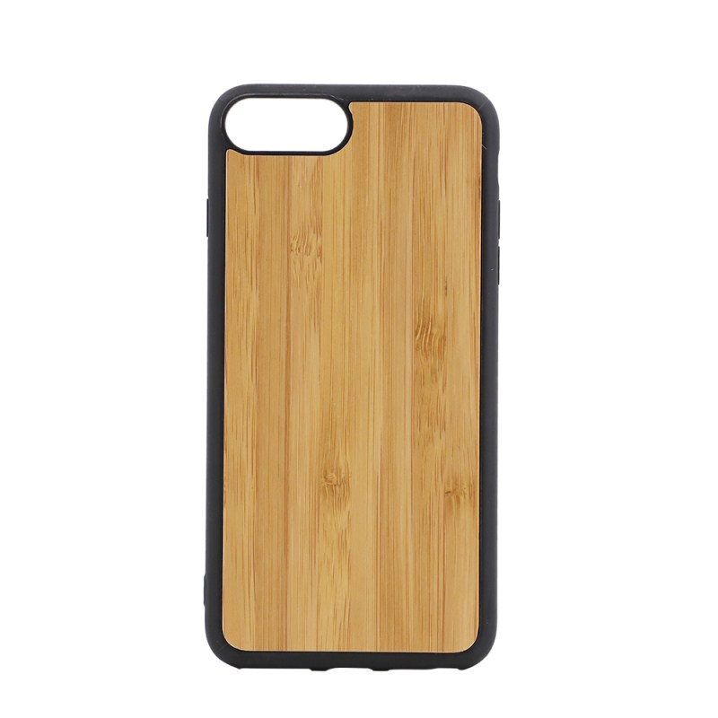 Sublimation TPU Phone Case with Bamboo for iPhone 7/8 Plus