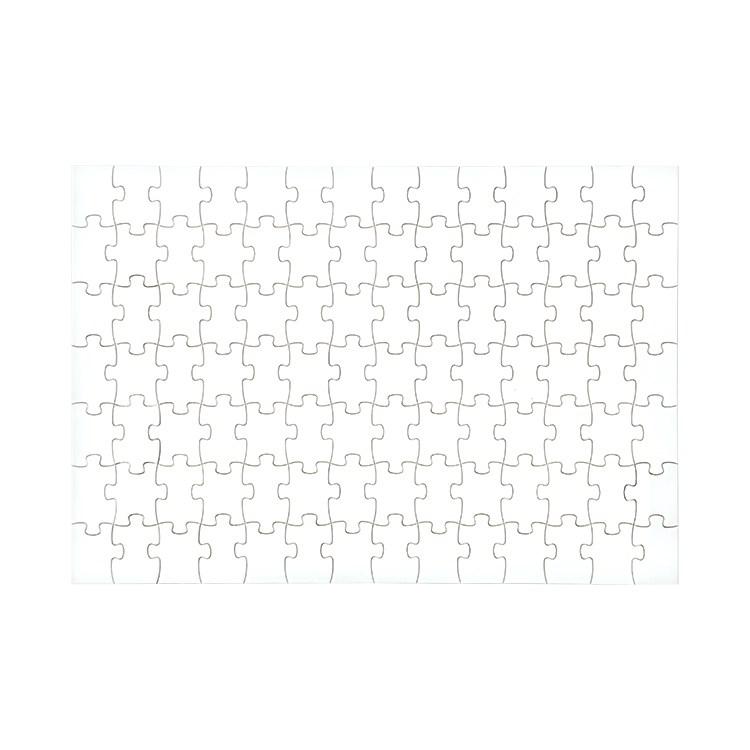 """Sublimation A4 Size Jigsaw 7""""*9""""-108pcs/8""""*10""""-98pcs"""