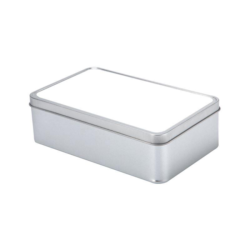 sublimation blank metal tin box