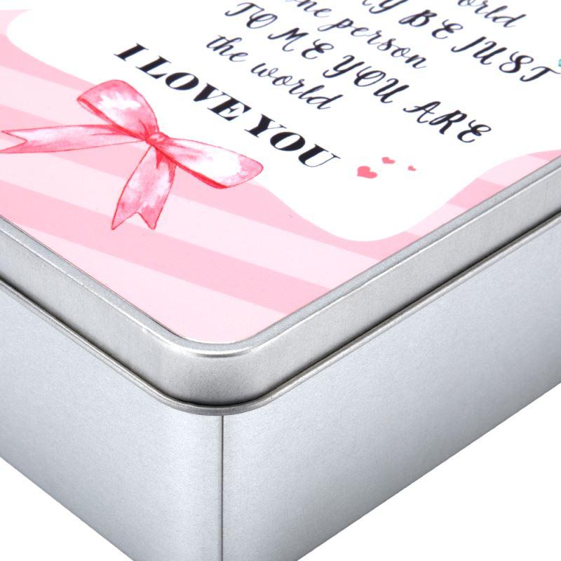 Sublimation Blank Metal Tin Boxes