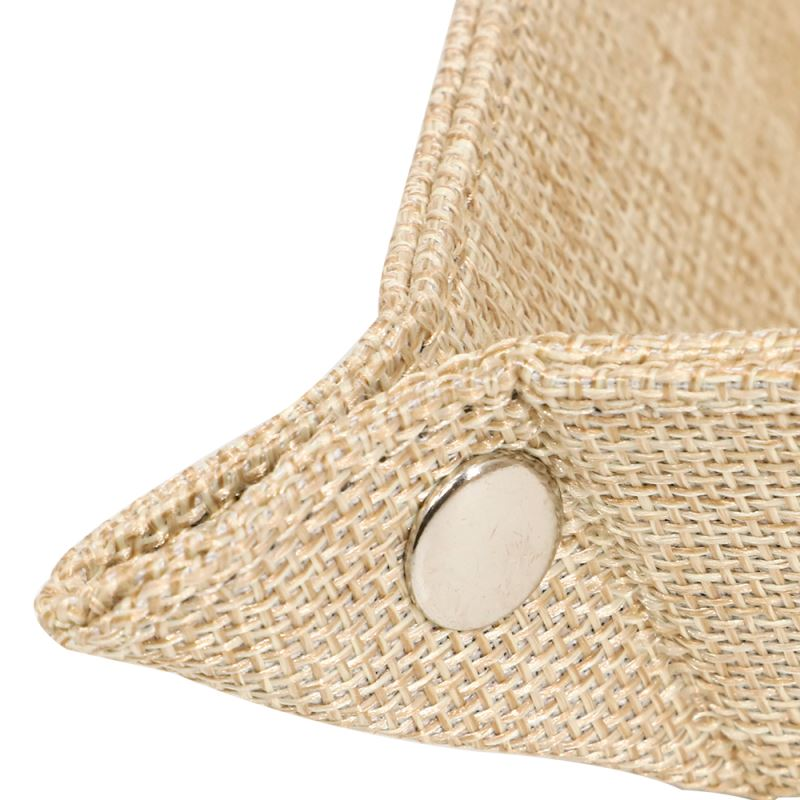Burlap Snap Up Tray for Sublimation