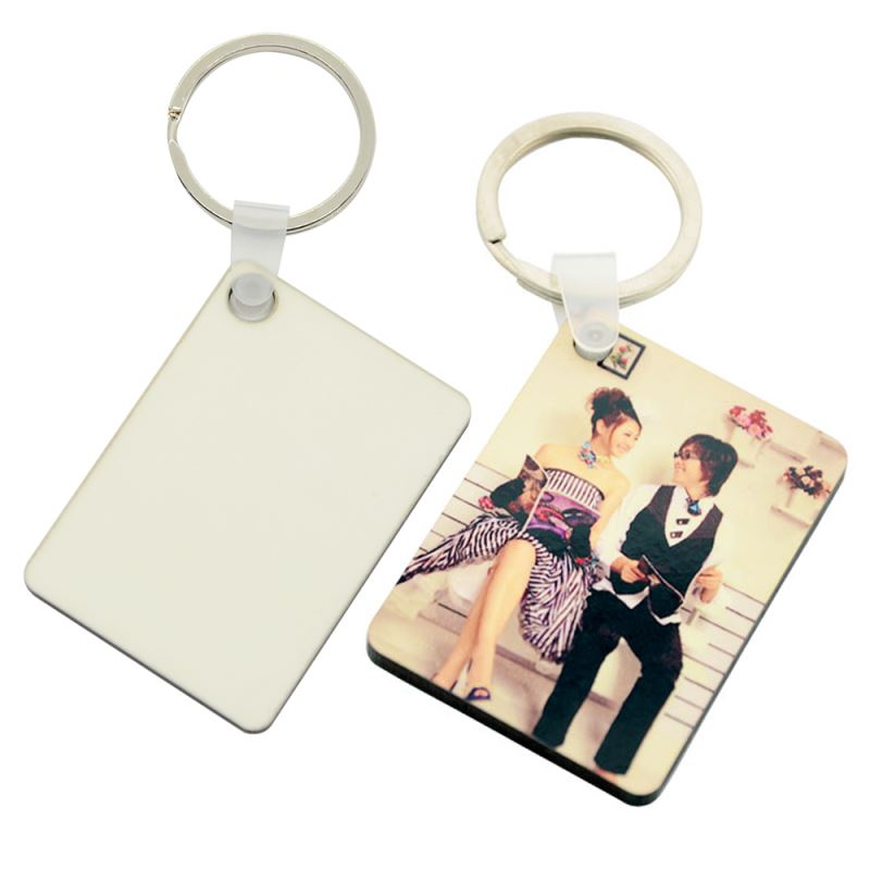 MDF Key Chain-Heart, Round, Square, Rectangle