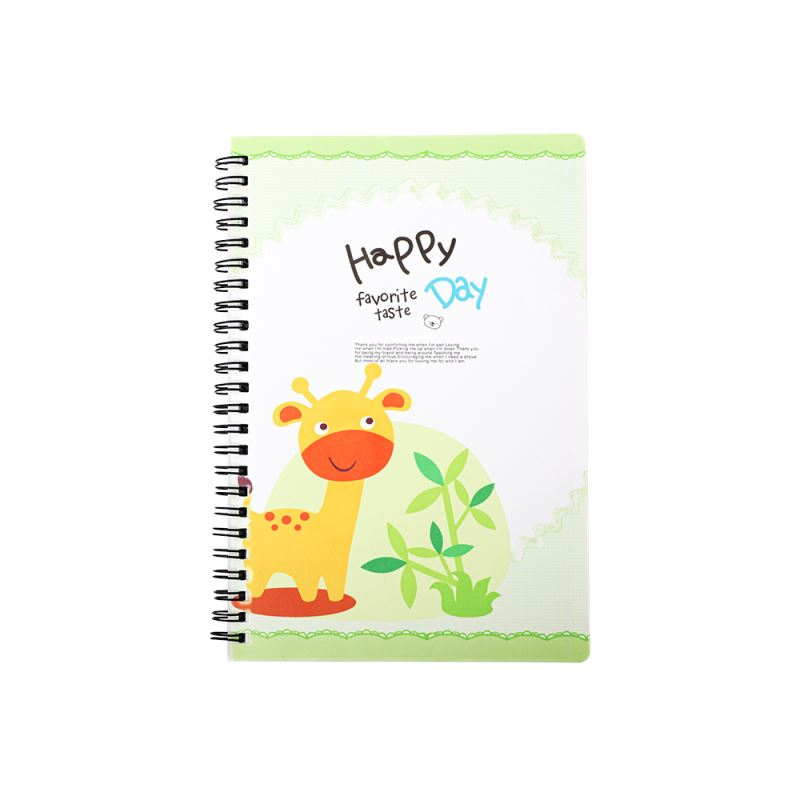 Plastic Cover Notebook A5-Glossy