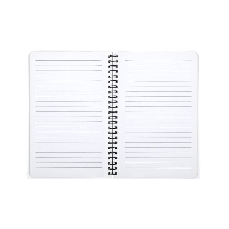 Plastic Cover Notebook A5