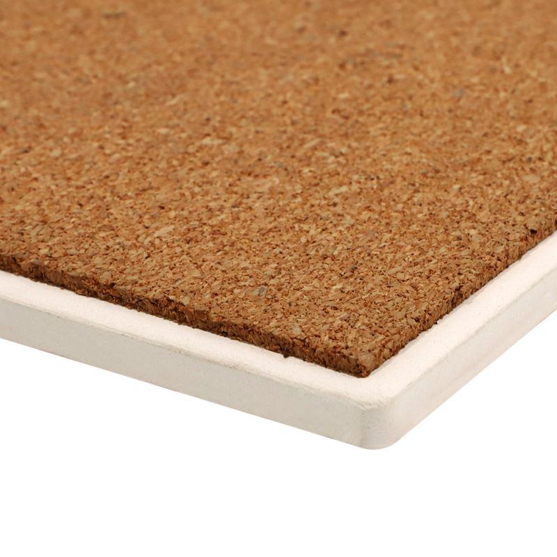 sublimation sandstone coaster with cork base