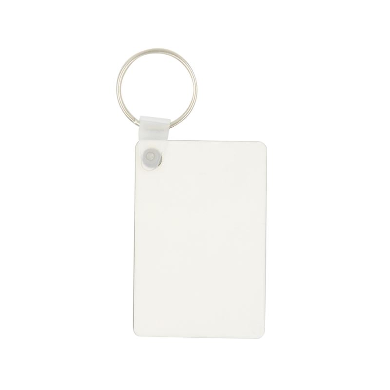 MDF Key Chain-Double side printable - Rectangle/Heart/Round/T-Shirt/Square