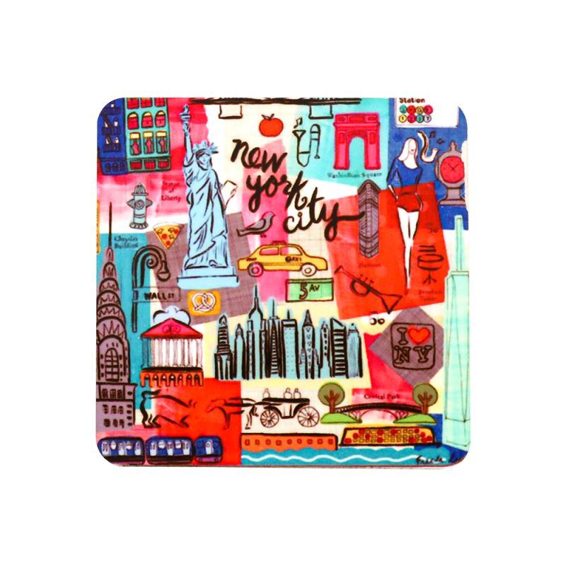 MDF Fridge sticker-Square Shape