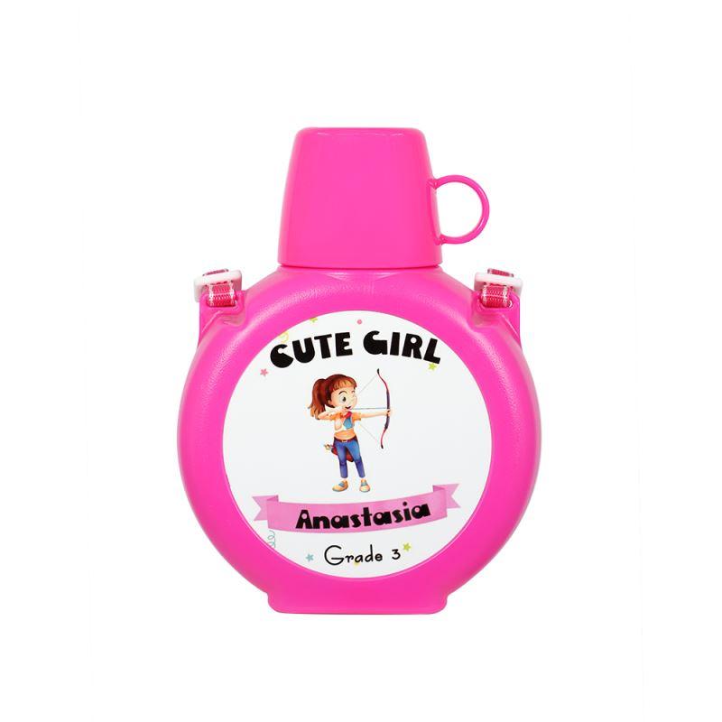 Kids Water Bottle- Blue/Pink