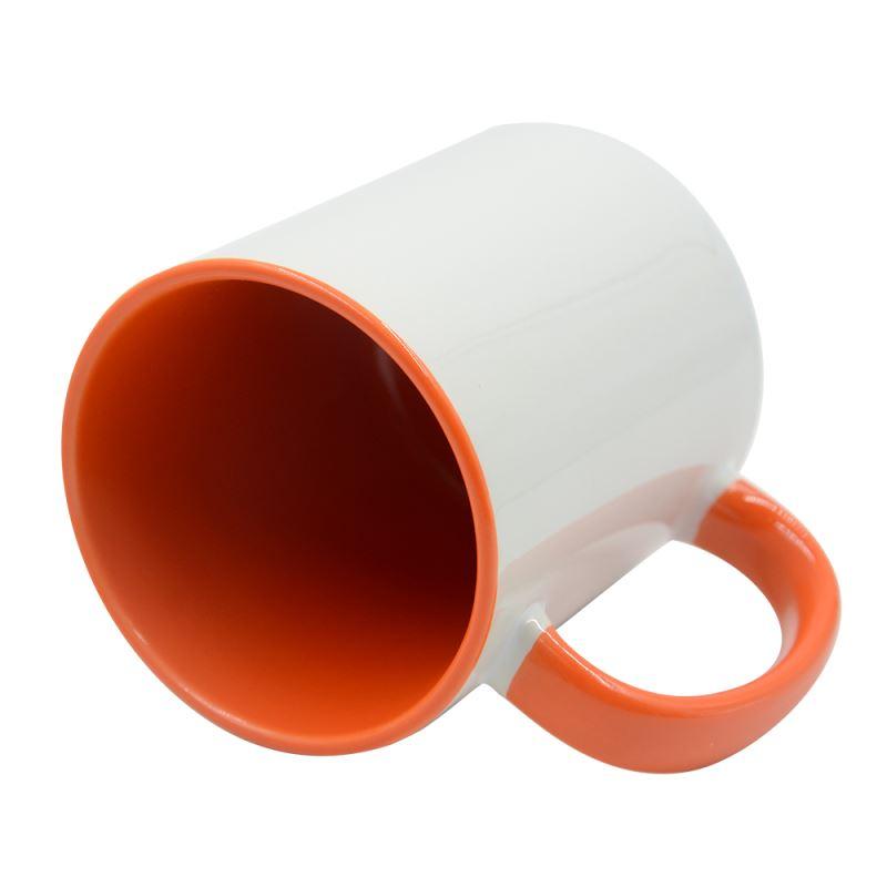 11OZ Inner and Handle Color Mug