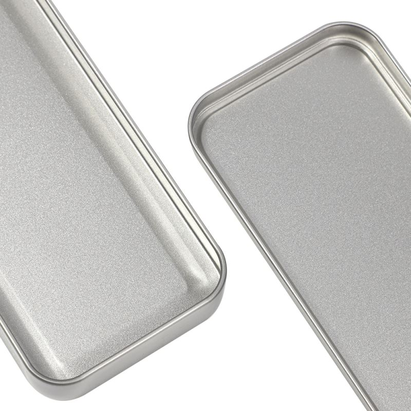 Metal Stationary Tin-Silver