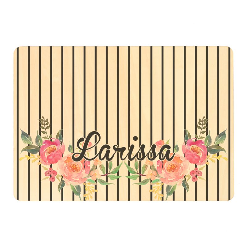 Natural Wood Placemat-Single Side Printable