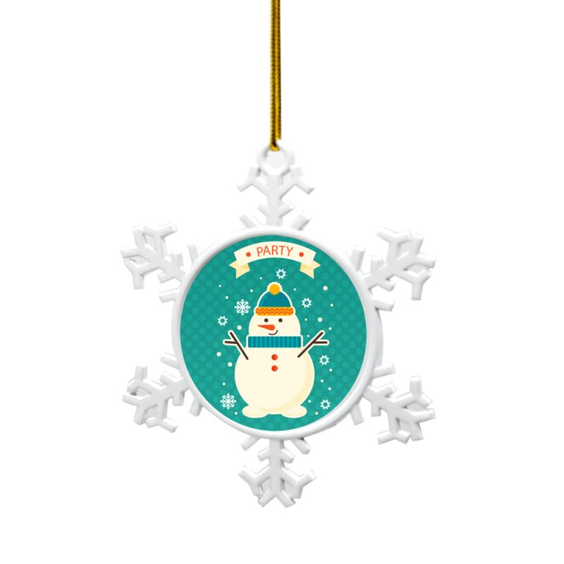 sublimation metal ornament for christmas
