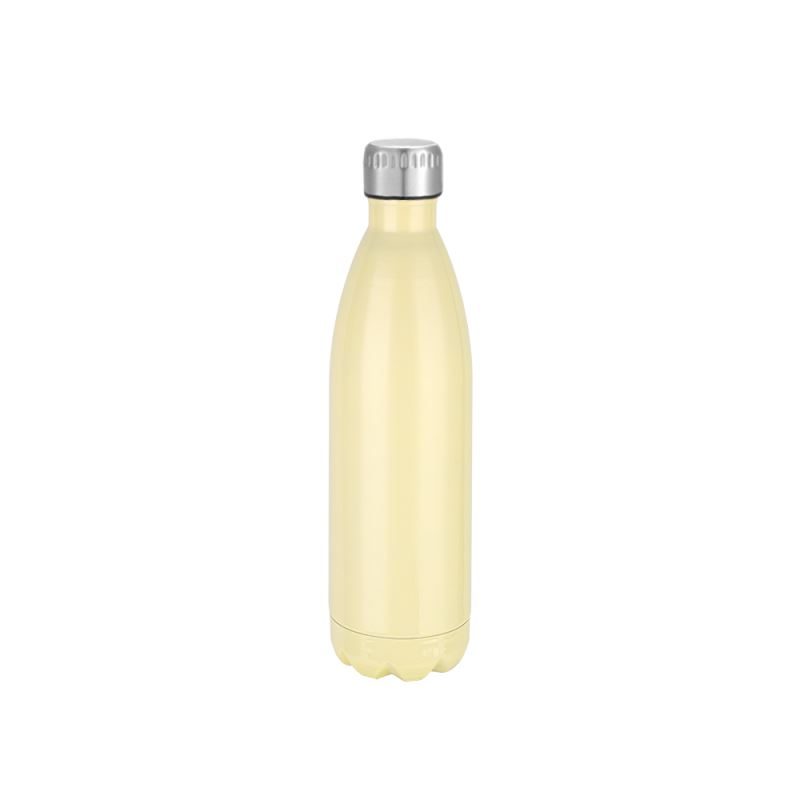 Cola-Shape-stainless-Steel-Bottle-Yellow