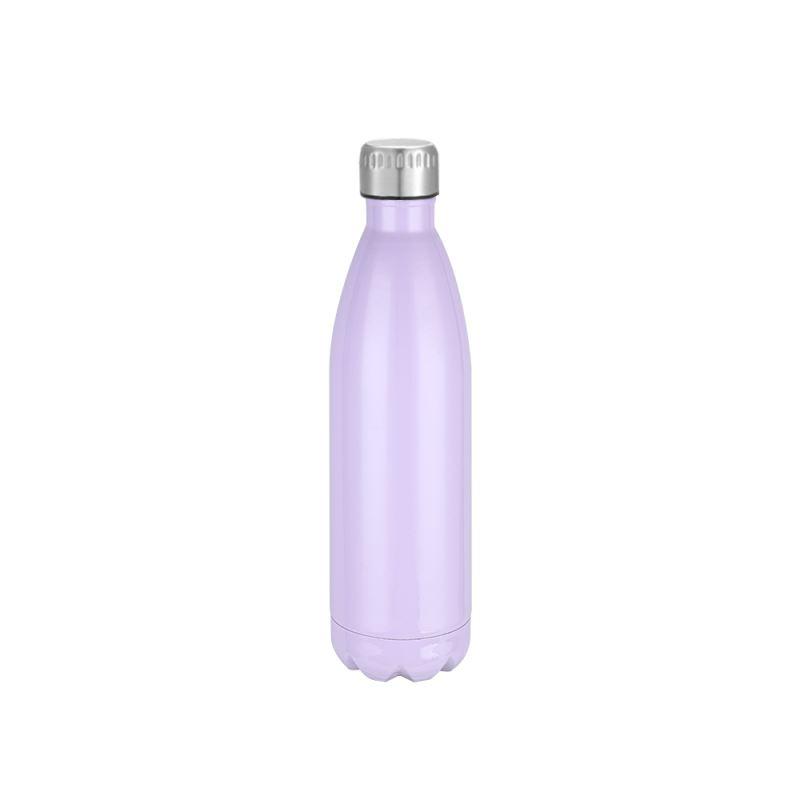 Cola Shape Stainless Steel Bottle - Purple