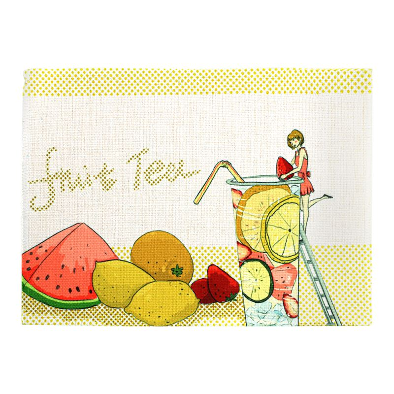 washable fabric placemats
