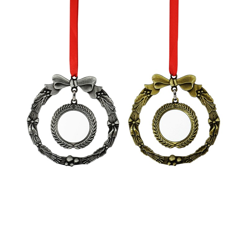 Vintage Craft Ring Ornaments -Gold&Silver
