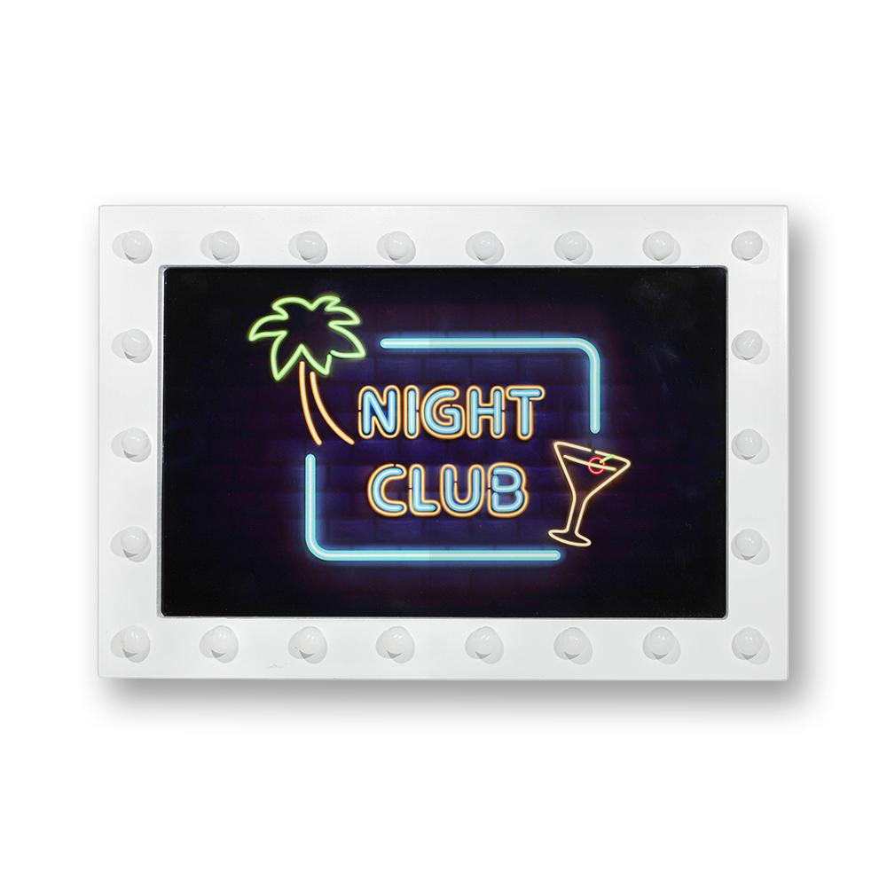 Light up photo box-29* 20*5 cm