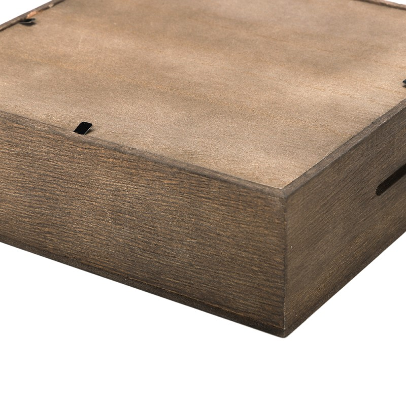 Shadow bank box - 16.5x16.5x5 cm