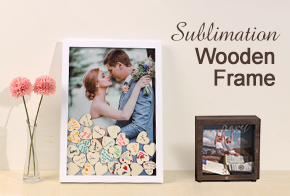 Sublimation wooden frames