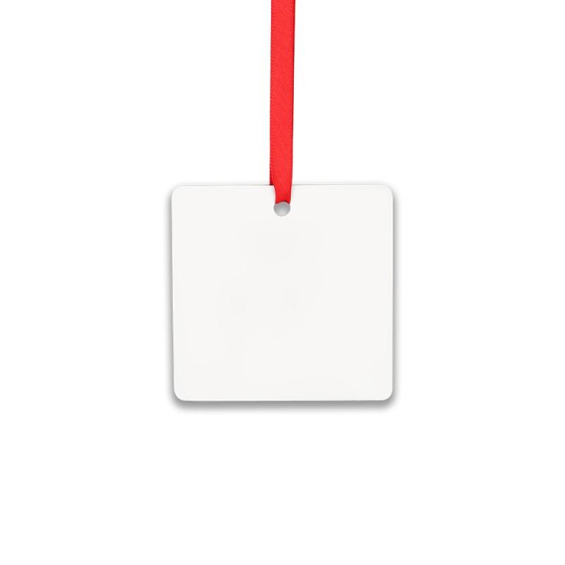 Double-side Printable Aluminum Ornaments-Square Shape-3