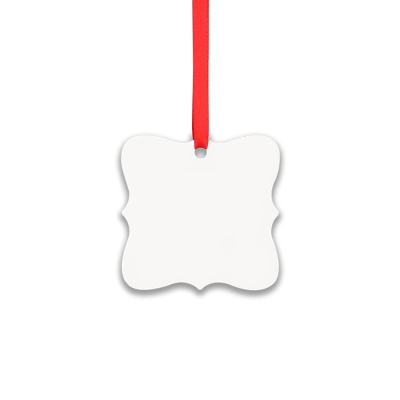 Double-side Printable Aluminum Ornaments-Irregular Shape-2.95