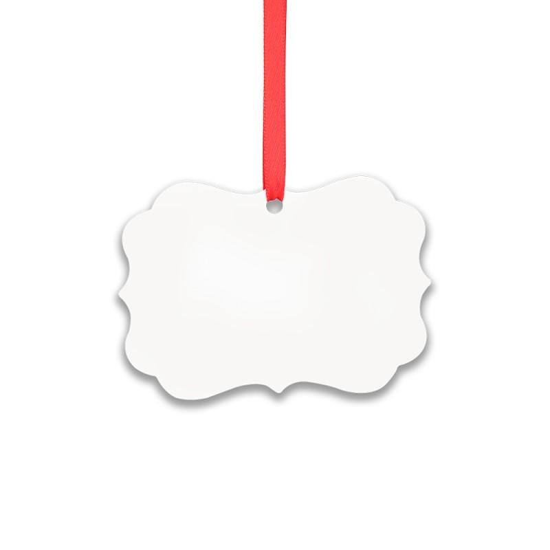 Double-side Printable Aluminum Ornaments-Irregular Shape-2.99