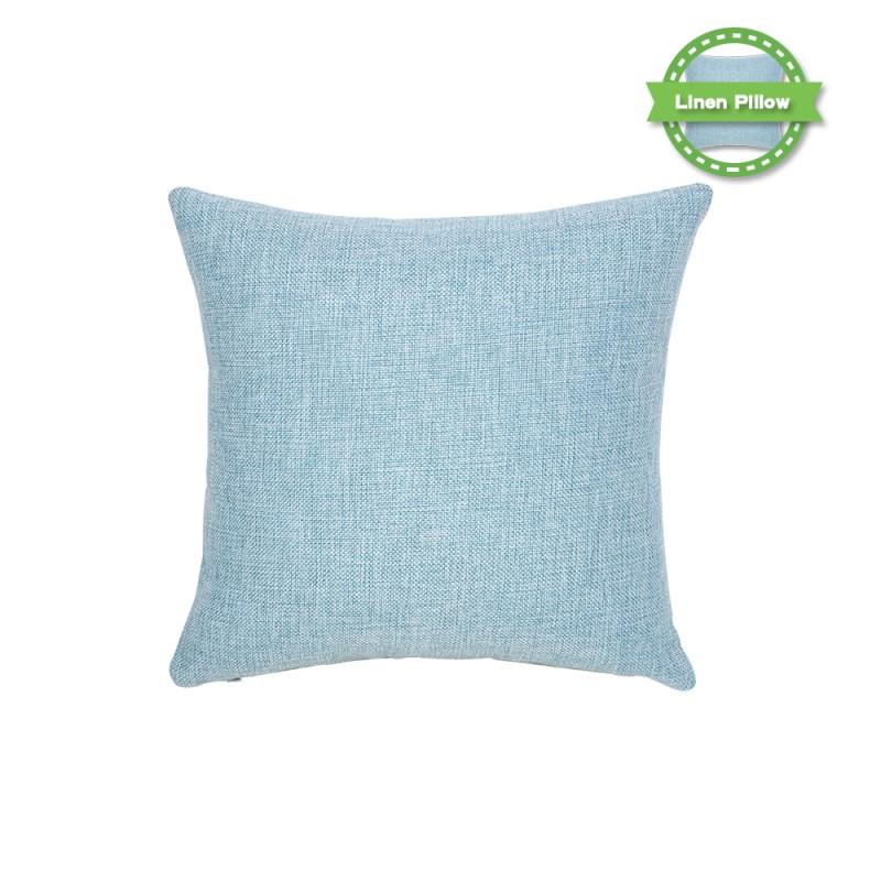 Linen Pillow Case -Dark Blue