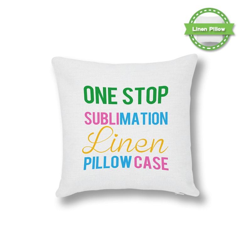 Sublimation Soften Linen Pillow Case