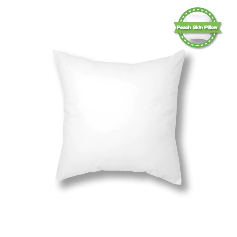 Thin Polyest Peach Skin Pillow Case - 40*40CM