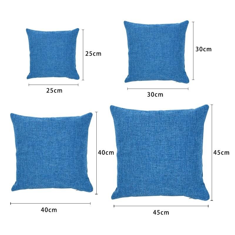 Linen Pillow Case - Dark Blue