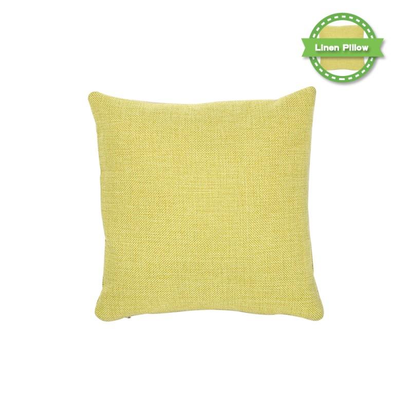 Linen Pillow Case - Light Blue -16