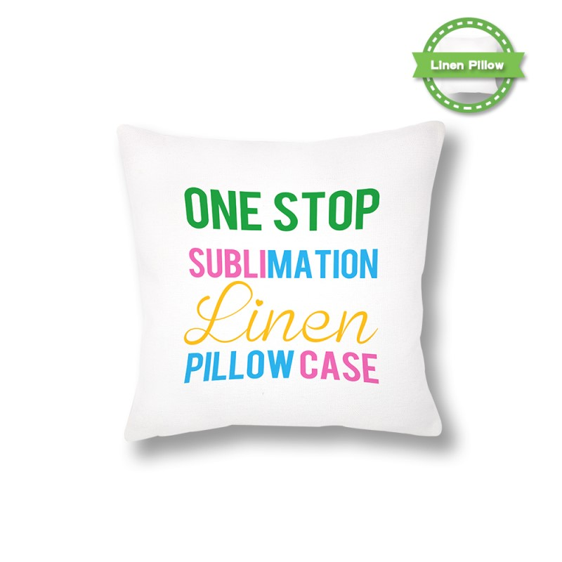 sublimation blanks pillowcase
