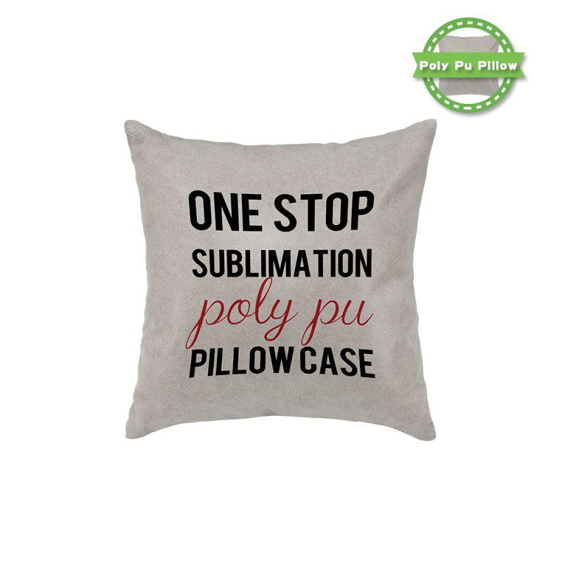 Ploy-PU Pillow Case - Kaki