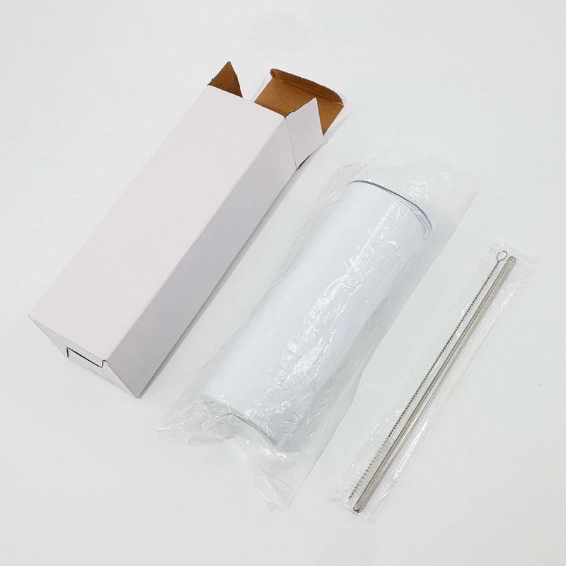 20OZ Stainless Steel Bottle - White