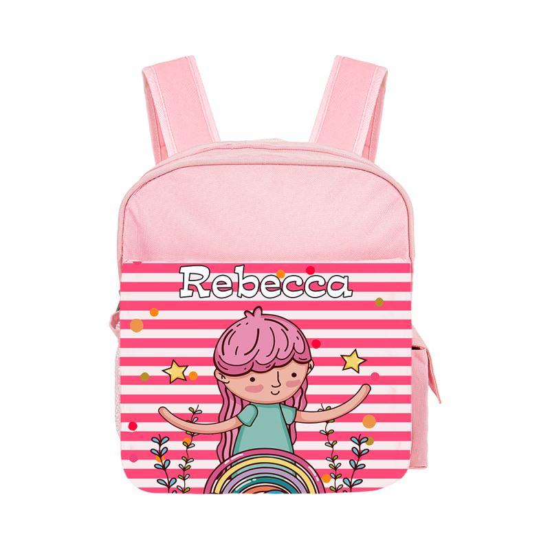 Kids Back Pack - red/pink/blue