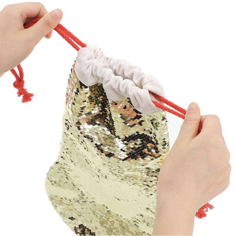 Sequin Christmas Stocking-40*26cm