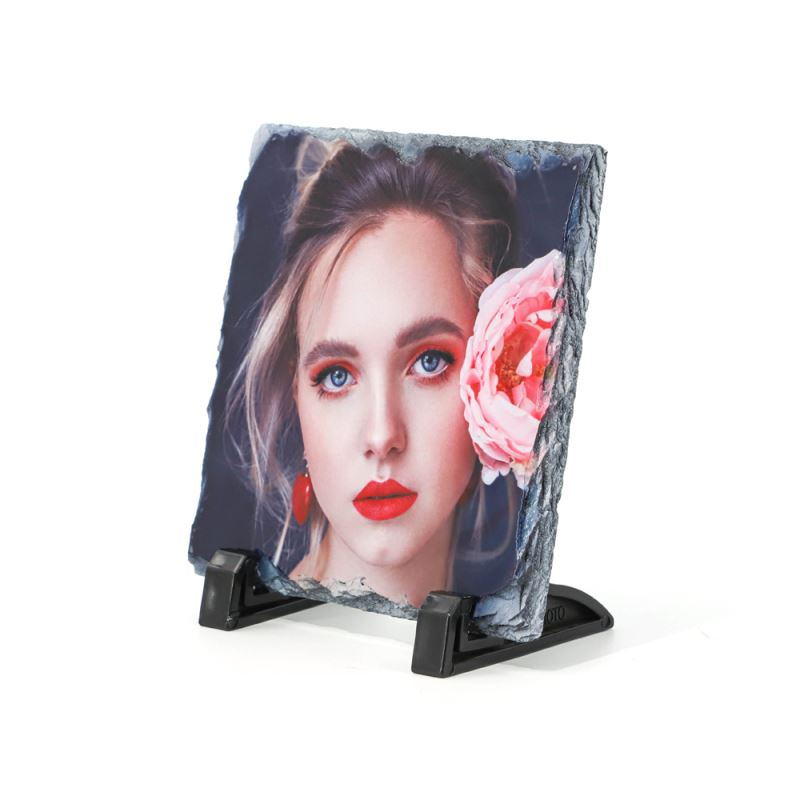 Photo Slate Middle Square Glossy/Matte-20*20cm